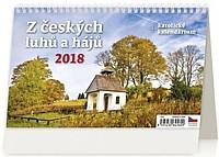 Z českých luhů a hájů 2018, stolní kalendář
