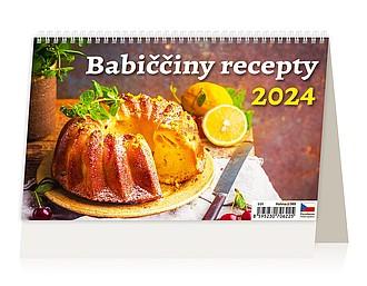 Babiččiny recepty 2020, stolní kalendář