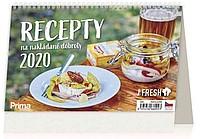 Recepty na nakládané dobroty 2020, stolní kalendář