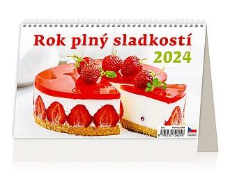 Rok plný sladkostí 2021, stolní kalendář