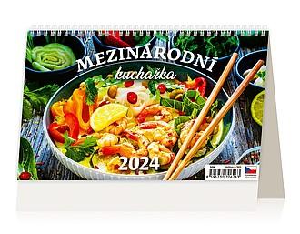 Zdravě jíst, zdravě žít 2021, stolní kalendář