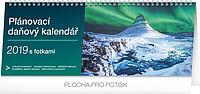 Plánovací daňový s fotkami 2019, stolní kalendář