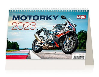 Motorky 2020, stolní kalendář