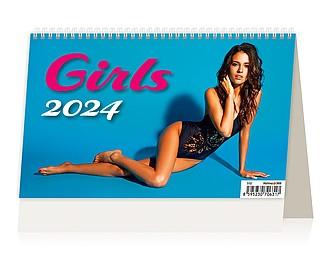 Girls 2021, stolní kalendář