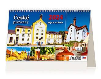 České pivovary nejen na kole 2021, stolní kalendář