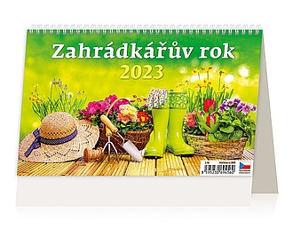 Záhradkářův rok 2021, stolní kalendář
