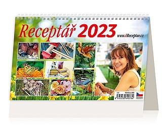 Receptář 2021, stolní kalendář