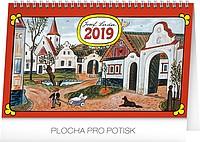 Josef Lada - Na vsi 2019, stolní kalendář