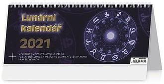 Lunární kalendář 2021, stolní kalendář