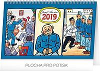 Josef Lada - Švejk 2019, stolní kalendář