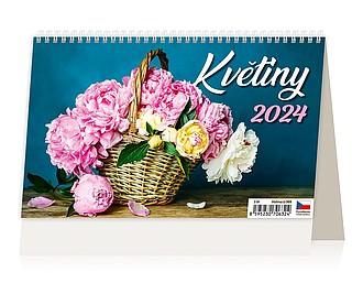 Květiny 2021, stolní kalendář
