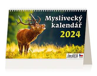 Myslivecký kalendář 2020, stolní kalendář