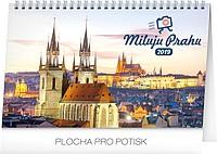 Miluju Prahu 2019, stolní kalendář
