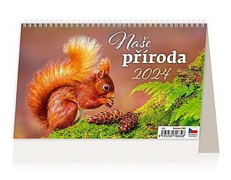 Naše příroda 2021, stolní kalendář