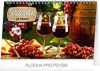 Putování za vínem 2019, stolní kalendář