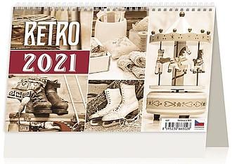 Retro 2021, stolní kalendář