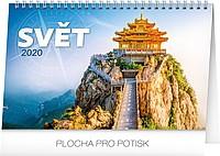 Svět 2019, stolní kalendář