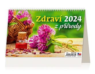 Zdraví z přírody 2021 stolní kalendář