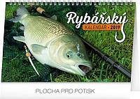 Rybářský kalendář 2019, stolní kalendář