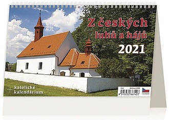 Z českých luhů a hájů 2021, stolní kalendář
