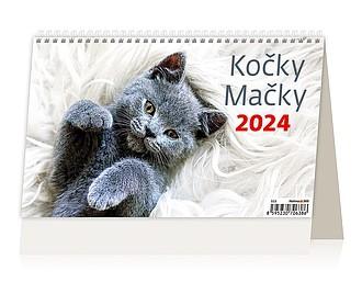 Kočky 2021, stolní kalendář