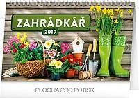 Zahrádkář 2019, stolní kalendář