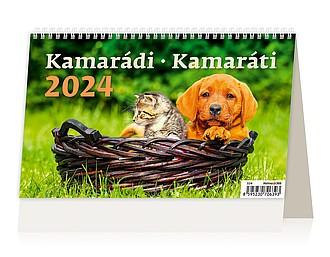 Kamarádi 2020, stolní kalendář