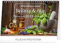 Bylinky a čaje 2019, stolní kalendář