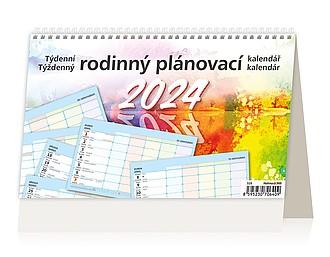 Rodinný plánovací kalendář 2020, stolní kalendář