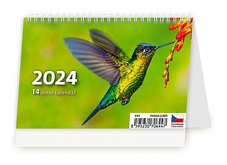 MINI 14denní kalendář 2020, stolní kalendář