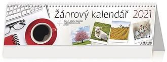 Žánrový kalendář 2021, stolní kalendář