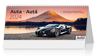 Auta 2020, stolní kalendář