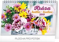 Krása květin 2019, stolní kalendář