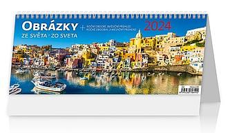 Obrázky ze světa 2020, stolní kalendář