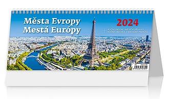 Města Evropy 2020, stolní kalendář