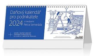 Daňový kalendář pro podnikatele 2021, stolní kalendář
