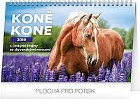 Koně 2019, stolní kalendář