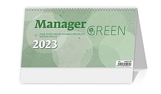 Manager Green 2020, stolní kalendář