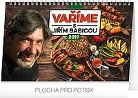 Vaříme s Jiřím Babicou 2019, stolní kalendář