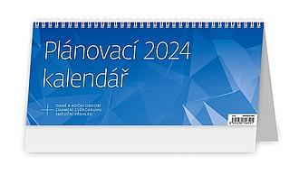 Plánovací kalendář MODRÝ 2021, stolní kalendář