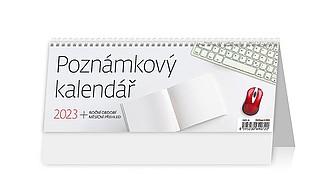 Poznámkový kalendář 2021, stolní kalendář