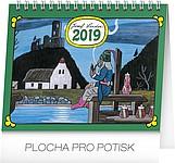 Josef Lada - Vodník 2019, stolní kalendář