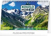 Kouzlo hor 2019, stolní kalendář