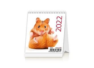 Mini Pets 2020, stolní kalendář