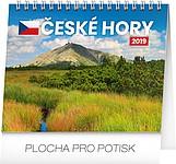 České hory 2019, stolní kalendář