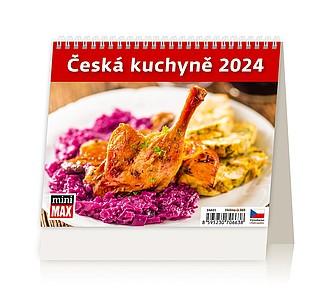 MiniMax Česká kuchyně 2020, stolní kalendář