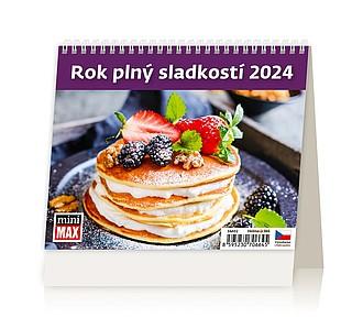 MiniMax Rok plný sladkostí 2020, stolní kalendář