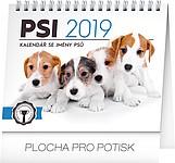 Psi se jmény psů 2019, stolní kalendář