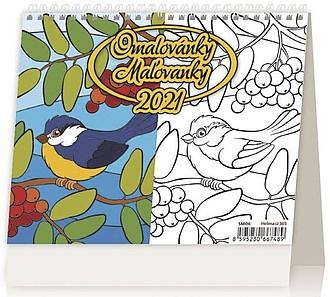 Minimax Omalovánky 2020, stolní kalendář