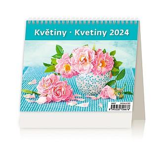 MiniMax Květiny 2020, stolní kalendář